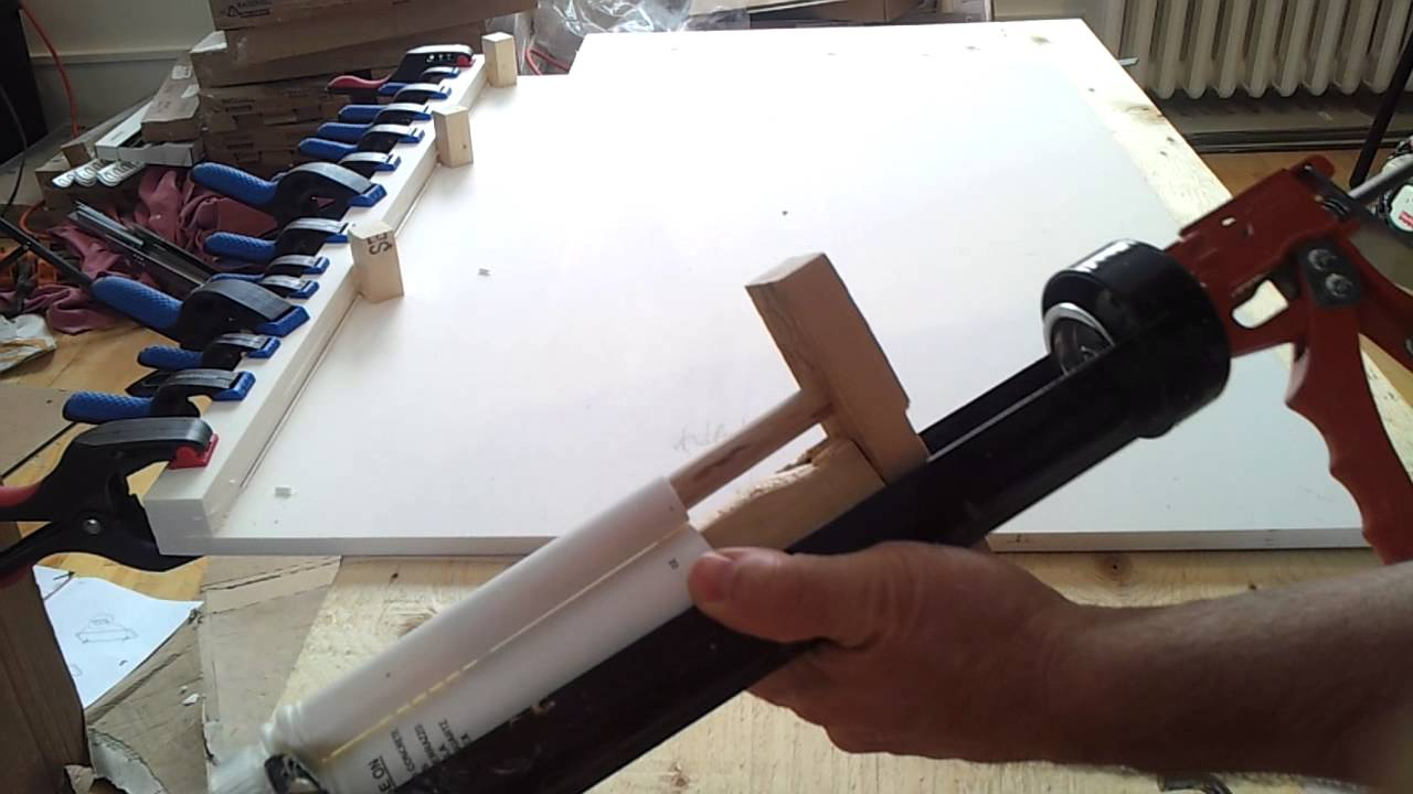 Diy Solid Surface Adhesive Gun Youtube