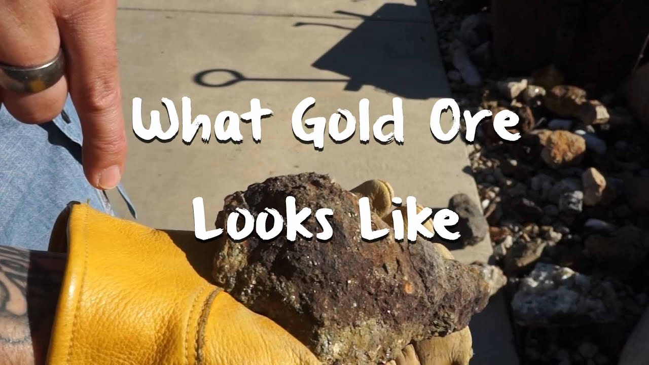 What Gold Ore Looks Like - Mining 101 - Gold Rush Expeditions