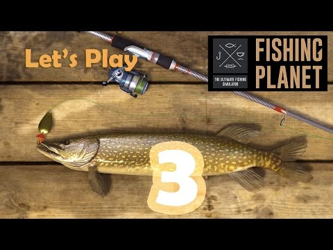 Let's Play Fishing Planet EP3 Emerald Lake Strikes Back!
