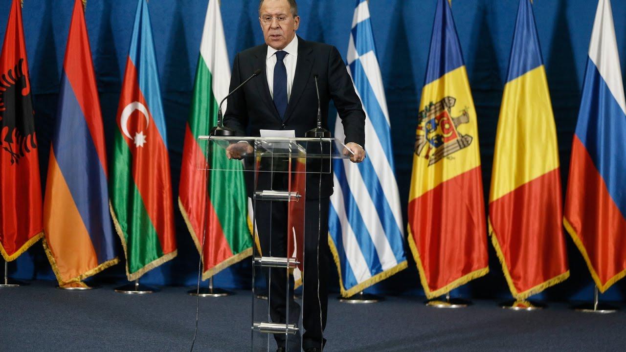 Совместная пресс-конференция по итогам 35 заседания СМИД ОЧЭС