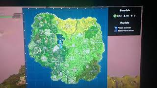 Fortnite Battle Royale how to find between a Pool, Windmill, and an Umbrella