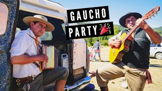 GAUCHO PARTY in Patagonia: Argentine BBQ Asado, Gaucho Music + Mini Rodeo | El Manso, Argentina
