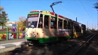 Repeat youtube video Straßenbahn in Brandenburg an der Havel mit KTNF6, MGT6D, Gothaer T57 ex Halle