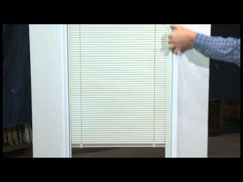 Re Engaging The Operator On Internalenclosed Door Glass Blinds