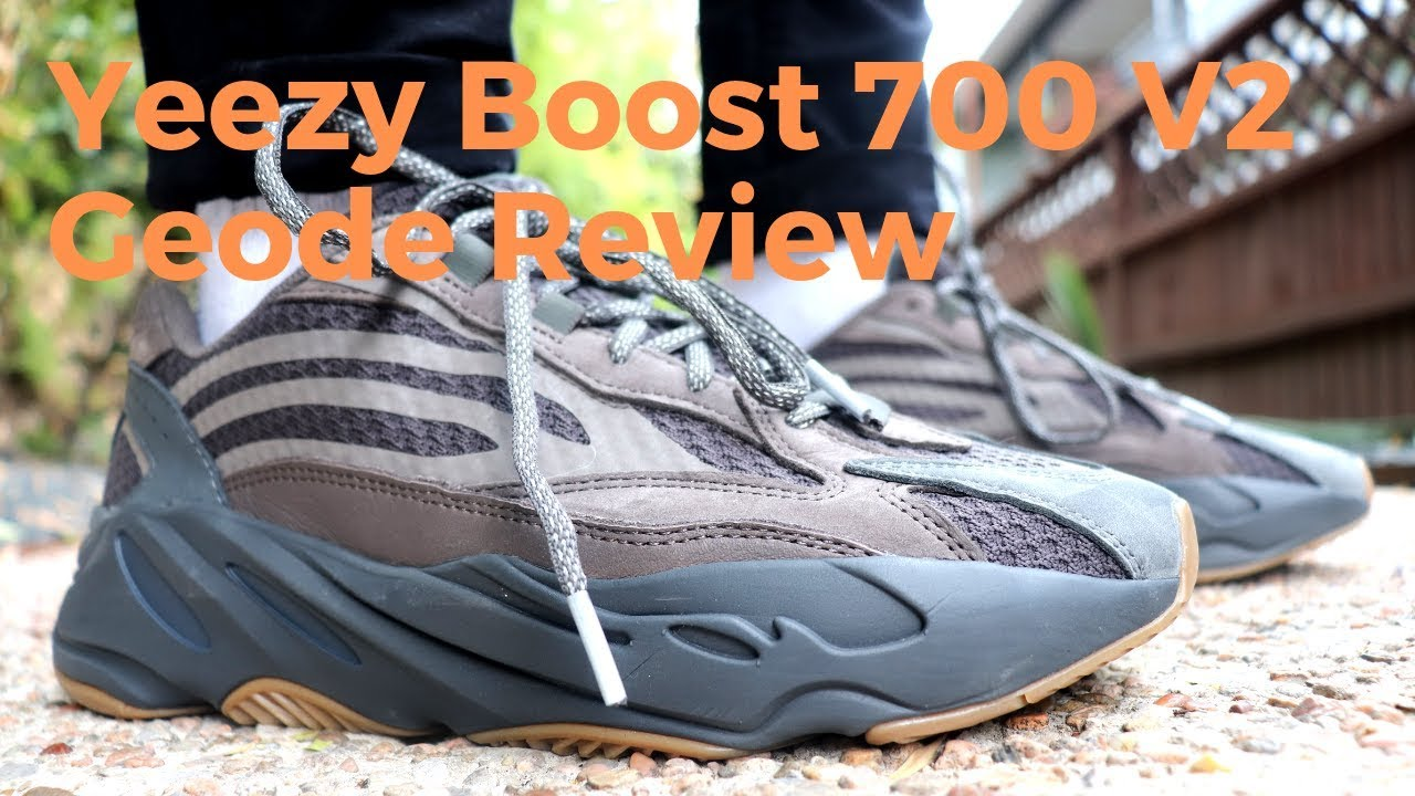 30608bb70 Adidas Yeezy Boost 700 V2 Geode Review   On Feet - YouTube