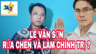 Nhà dân chủ cuội Lê Văn Sơn sau khi được cái vé sang Mỹ hiện nay đang làm nghề gì để sống ?