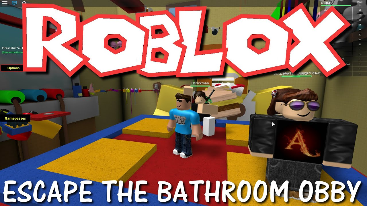 Escape The Bathroom From Guava Juice roblox - escape the bathroom obby!!! - youtube