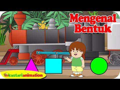 Mengenal Bentuk bersama ella ello   Kastari Animation Official