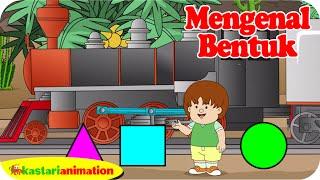 Mengenal Bentuk bersama ella ello | Kastari Animation Official