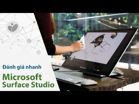 Đánh giá nhanh Surface Studio