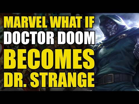 Doctor Doom Becomes Doctor Strange (Marvel What If Vol 2 #53)