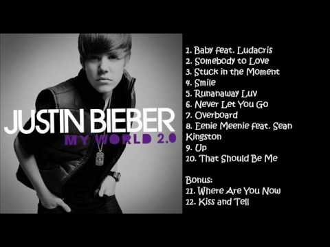 Justin Bieber - My World 2.0 SONGS