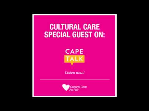 Cultural Care Special Guest on Cape Talk