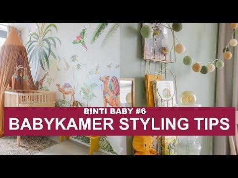 BABYKAMER INRICHTEN MET PRACHTIG JUNGLE BEHANG! | BINTI BABY #6 | BINTI HOME