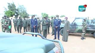 Armée Sénégalaise - Cérémonie de réception de 208 nouveaux véhicules