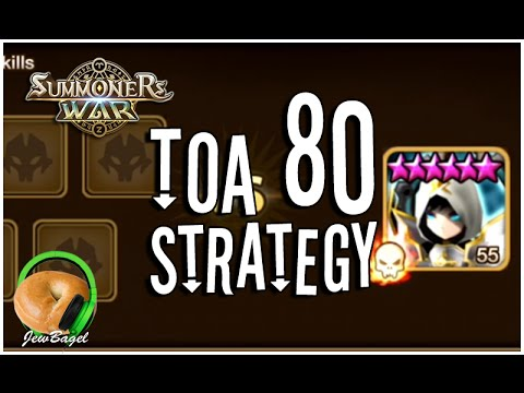 SUMMONERS WAR : TOA 80 Tips & Teams    (Trial / Tower of Ascension)