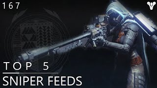 Destiny: Top 5 Amazing Sniper Feeds Of The Week / Episode 167
