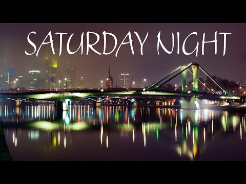 Saturday Night JAZZ - Smooth Lounge JAZZ &  Night City - Night Traffic JAZZ