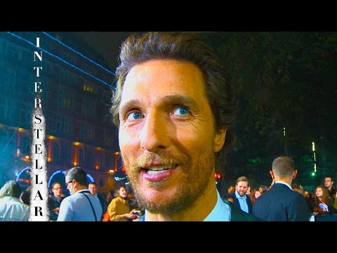 Matthew McConaughey interview at Interstellar premiere