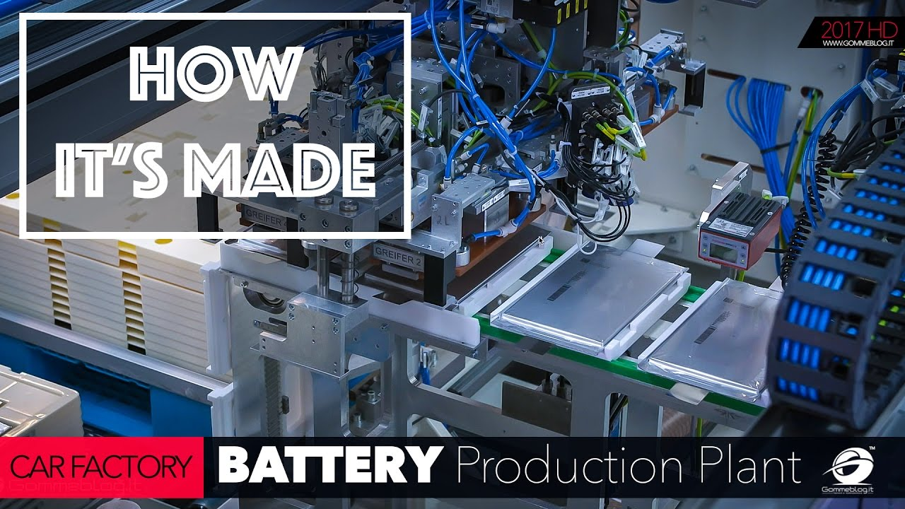 How To Remove A Car Battery >> CAR FACTORY: HOW IT'S MADE the Mercedes-Benz Battery ...