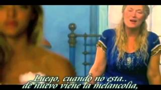 "Mamma mia! "" Slipping through my fingers""  Sub Español (movie scene)"