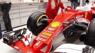 Формула 1. Феррари SF16-H. Новый болид. Гонки. F1 2016 Ferrari SF16- H.
