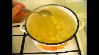 Суп из сардины. Быстро и вкусно)