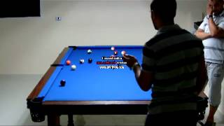 My Home Pool Table - First Game