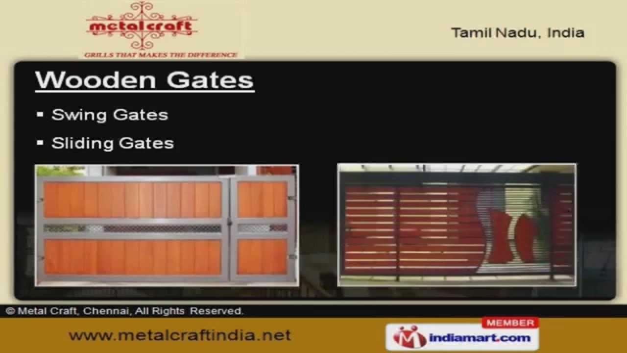 Gates And Grills By Metal Craft Chennai Chennai Youtube
