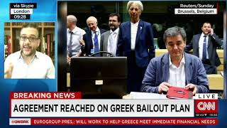 Agreement reached on Greek bailout plan