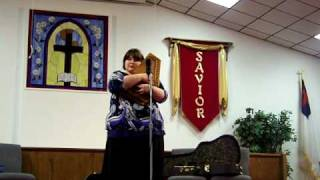 "Heather Berry Mabe ""Beulah Land "" Trinity Baptist Church Christiansburg Va 2-08-09"