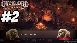 Overlord Fellowship of Evil - Gameplay Walkthrough Part 2 - PS4/Xbox One/PC [ HD ] - No Commentary