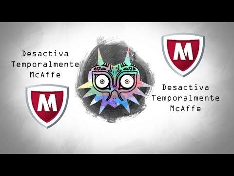 Como desactivar temporalmente nuestro Antivirus McAfee