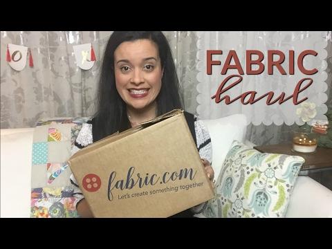 Fabric.com Fabric Haul  |  3 Border Prints