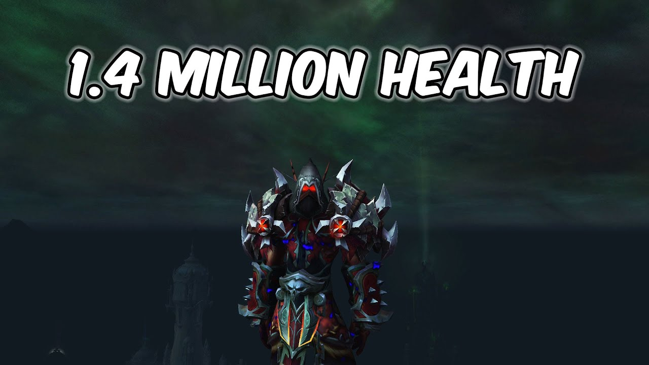 1.4 MILLION HEALTH - Havoc Demon Hunter PvP - WoW BFA 8.3