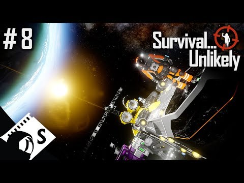 Survival Unlikely #8 To Orbit: 2nd Times the Charm? A Space Engineers Co Op Series