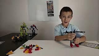 Сборка конструктора роботы- Биониклы часть 2