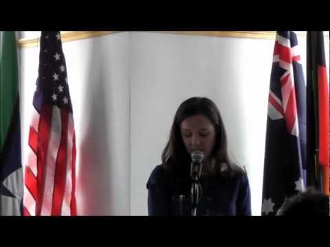 Australia Day Address 2013 at the Australian Consulate-General in New York