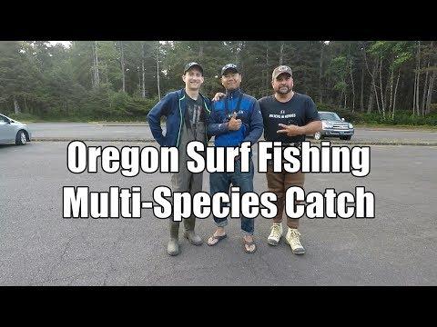 Surf Fishing Oregon Coast | Mullti-Species
