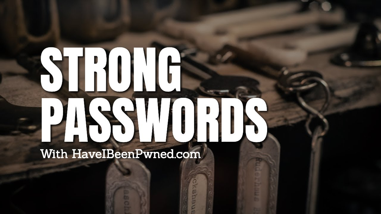Strong Passwords with HaveIBeenPwned (Example)   GoRails