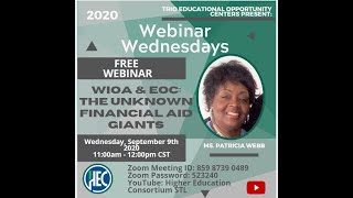 WIOA and EOC - The Unknown Financial Aid Giants