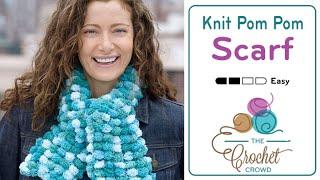 How to Knit with Pom Pom Yarn