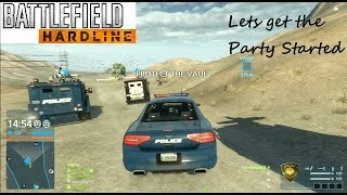 battlefield Hardline PS3 Multiplayer - Lets get the Party Started