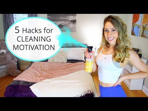 How to Motivate Yourself to CLEAN & ORGANIZE Your Room!