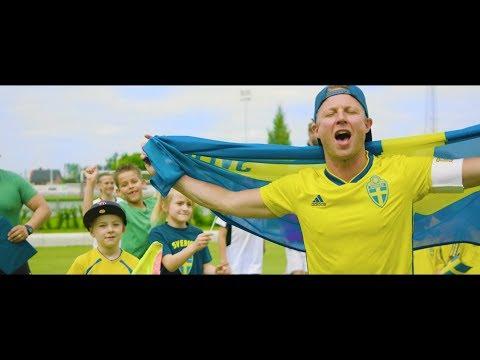Pidde P feat. Landslagsbarnen - Vi ska skicka våra grymma pappor till Moskva (Officiell Video)