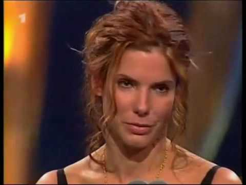 A Sandra Bullock... speaking German. I never suspected a second language from her