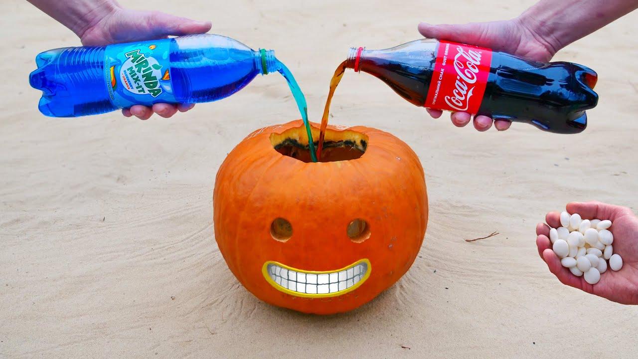 Experiment: Cola, Mirinda vs Mentos
