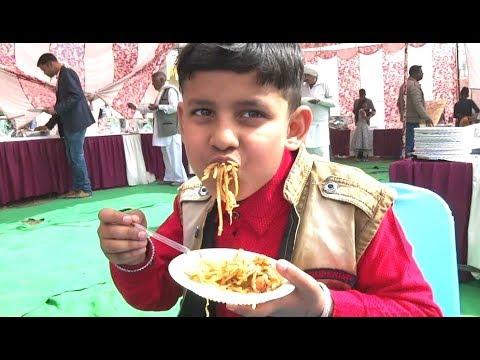Village wedding enjoy kids    shadi food    Haryana wedding