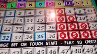 Keno 10 out of 10 Hit | Multi card keno | Las Vegas Silver Seven Casino