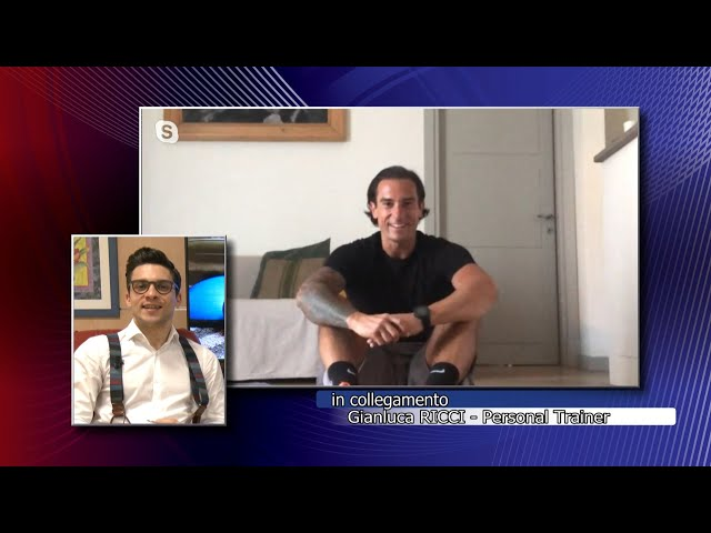 A CASA E IN FORMA - L'allenamento di Gianluca Ricci